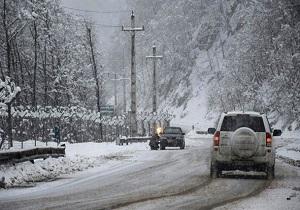 ترافیک در محور شهریار-تهران سنگین است/ بارش برف و کولاک در استانهای خراسان رضوی، شمالی، زنجان و قم