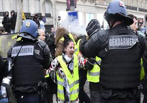 چرا اخبار مربوط به تظاهرات معترضان به نظام سرمایهداری در فرانسه سانسور میشود؟