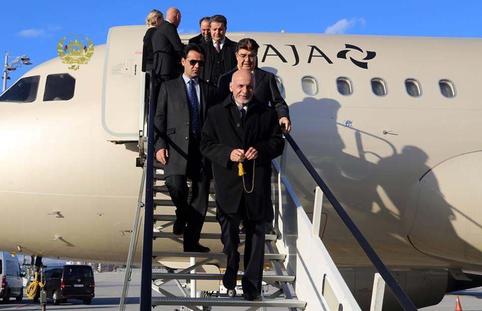 اشرف غنی به افغانستان بازگشت