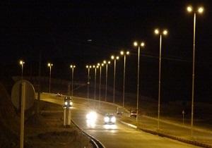 بهره برداری از پروژه روشنایی بلوار فدک مبارکه بافق