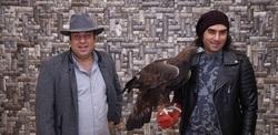 ماجرای حضور جنجالی رضا یزدانی با عقاب اجارهای در اکران مردمی