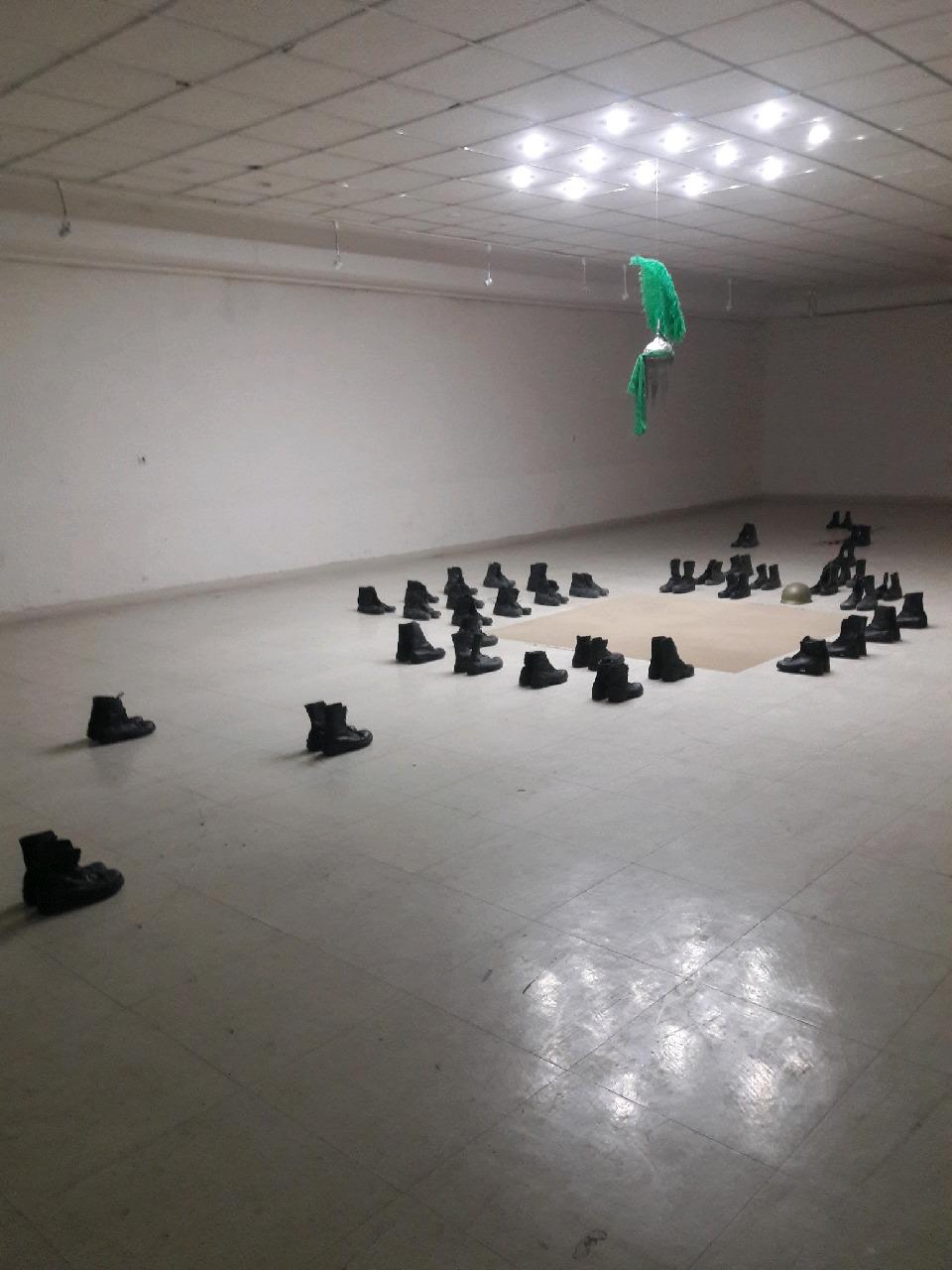 افتتاح نمایشگاه هنر مفهومی انقلاب تا ظهور در اراک