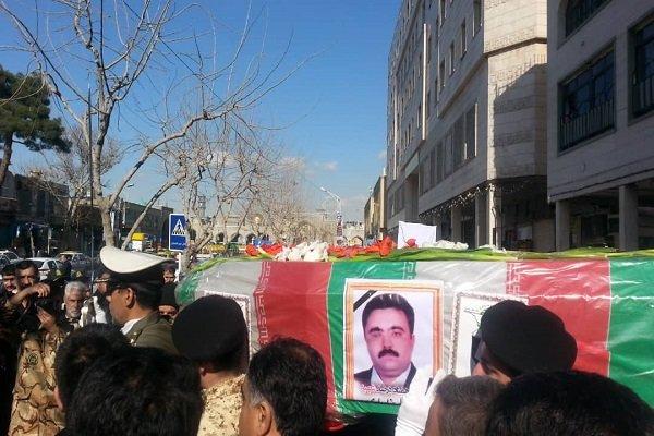 پیکر جانباز ۷۰ درصد دوران دفاع مقدس در مشهد تشییع شد