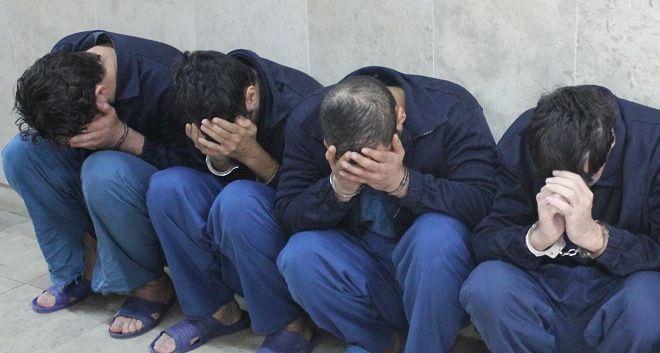 دستگیری سارقان منازل پایتخت با بیش از ۱۵ فقره سرقت + عکس