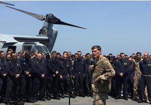 فرمانده ارشد نیروهای نظامی آمریکا وارد بغداد شد