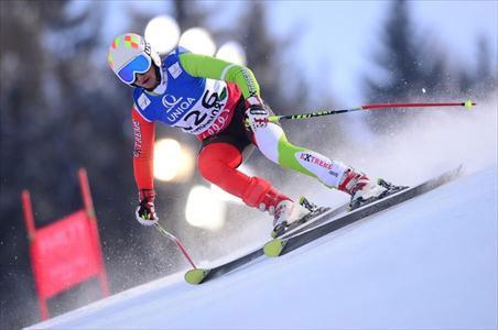 ملی پوش اسکی به خط پایان رقابت های قهرمانی جهان نرسید