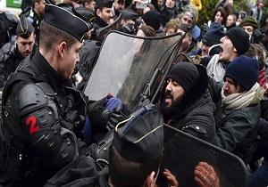 بازداشت ۲۹ معترض جلیقه زرد توسط پلیس فرانسه