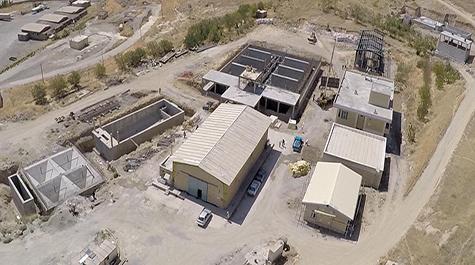 مجهزترین تصفیه خانه آب کشور درمهاباد افتتاح میشود