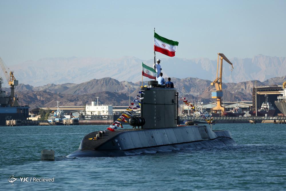زیردریایی «فاتح» به نیروی دریایی ارتش جمهوری اسلامی ایران ملحق شد