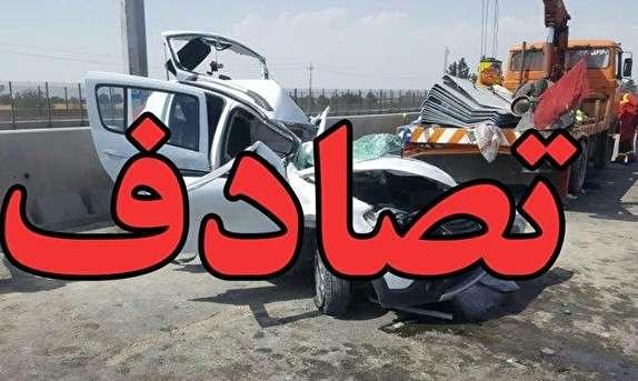 باشگاه خبرنگاران - ۳ کشته در تصادف خونین نیسان با پراید