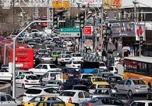 باشگاه خبرنگاران -وضعیت ترافیکی خیابانهای تهران در روز دوشنبه