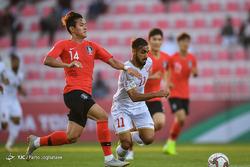 دیدار تیمهای فوتبال کره جنوبی و بحرین