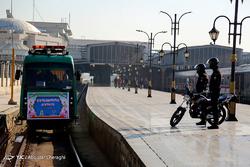 افتتاح نخستین درزین پلیس راه آهن تهران