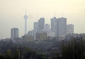 هشدار سازمان محیط زیست به شهروندان نسبت به آلوده شدن هوای تهران