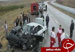 مصدومیت ۹ نفر در حادثه رانندگی محور پلدختر اسلام آباد
