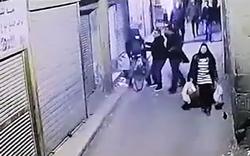 لحظه دستگیری و انفجار عامل انتحاری در مصر + فیلم