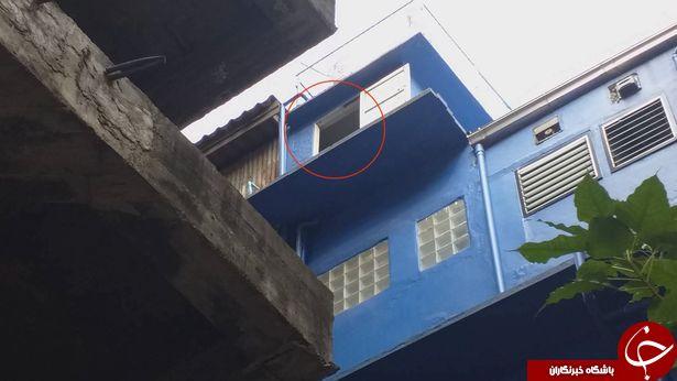 سقوط توریست از بالکن هتل حین تمرین یوگا! + فیلم و تصاویر