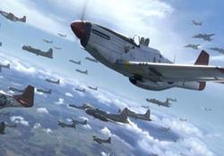 فیلمی مهیج از یک نبرد هوایی تمام عیار میان چندین جنگنده در جنگ جهانی دوم