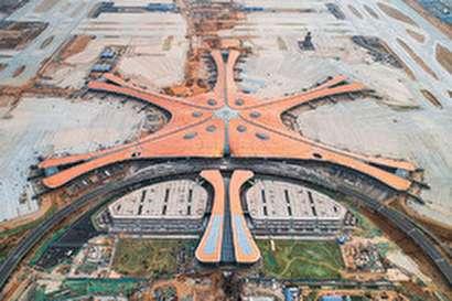 ساخت بزرگترین فرودگاه جهان در چین