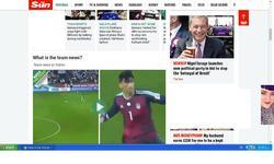 پخش زنده فوتبال ایران در لندن با جذابیت بیرانوند