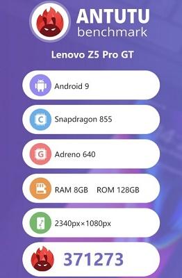 لنوو Z5 Pro GT با عبور از آیفون XS به قدرتمندترین تلفن هوشمند جهان تبدیل شد
