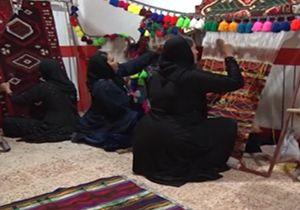زنانی که با هنر دستشان صنایع دستی خوزستان را زنده نگه داشتهاند + فیلم
