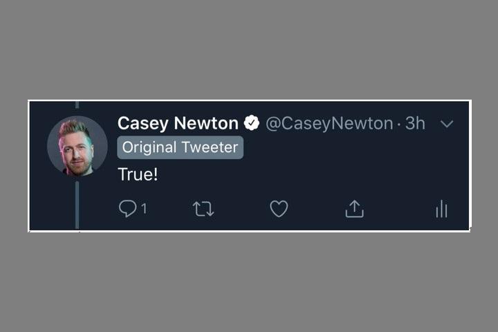 قابلیت جدید توئیتر، آغاز کننده یک رشته توئیتری را مشخص میکند