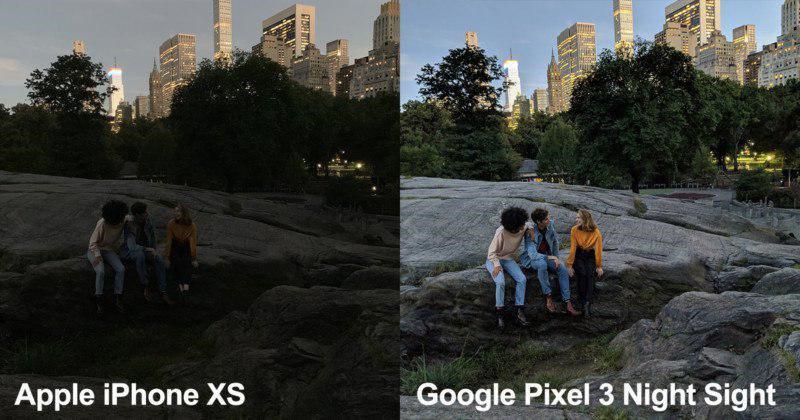 گوگل با قابلیت Night Sight به نبرد اپل میآید