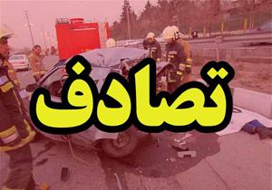 واژگونی اتوبوس در جاده شیراز مرودشت