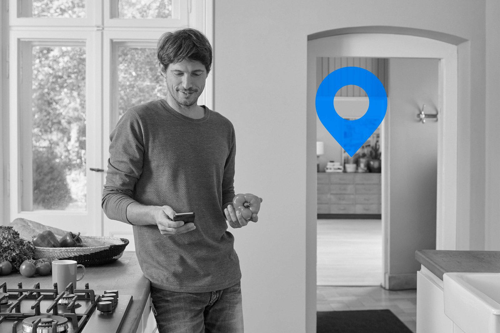بلوتوث موقعیت دقیق کلیدهای شما را مشخص میکند