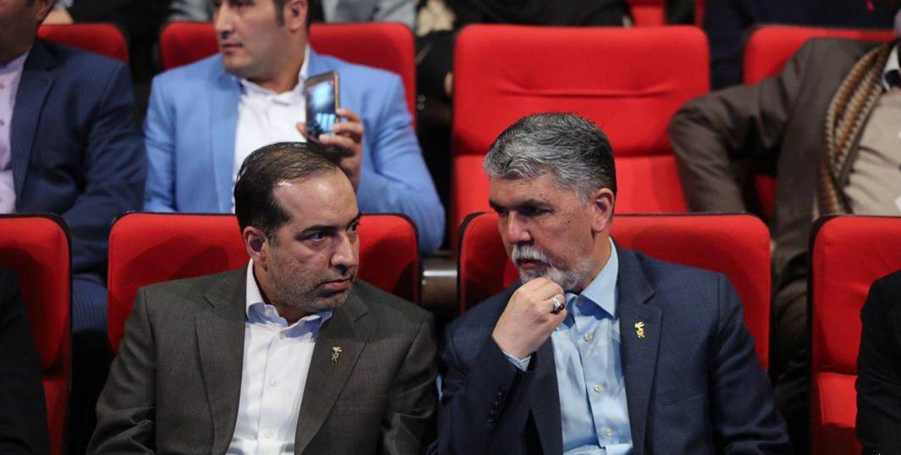 تک خوانی زن در افتتاحیه جشنواره فیلم فجر و در حضور وزیر ارشاد