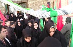 اعزام نخستین گروه دانش آموزان دختر زنجانی به مناطق عملیاتی جنوب
