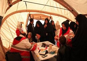 ۳۰۰ نفر از روستای تمندگان اصفهان ازخدمات تیم درمان هلال احمر استان یزد بهرهمند شدند