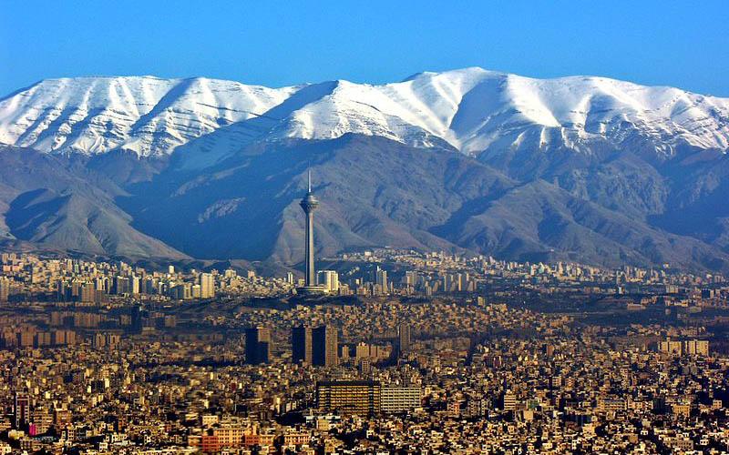 شاخص هوای تهران دریکم اسفند ماه/ وضعیت هوای پایتخت سالم است