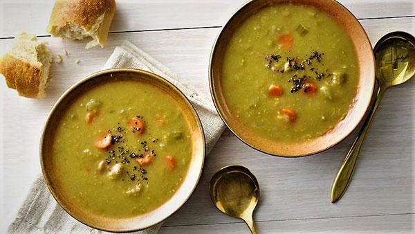 طرز تهیه سوپ نخود مدیترانهای