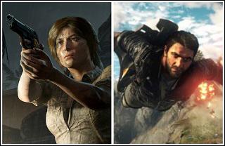 فروش کمتر از حد انتظار دو بازی Tomb Raider و Just Cause 4