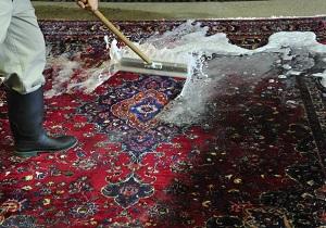 بازار نه چندان پر رونق قالیشوییها در پایان سال/ افزایش ۱۰ درصدی شست و شوی قالی و موکت