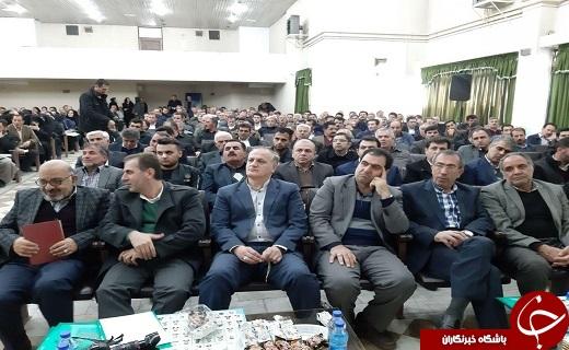 مراسم تجلیل از نمونه های بخش کشاورزی آذربایجان غربی+تصاویر