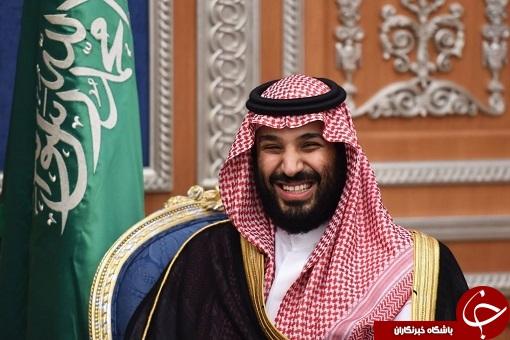 کلاهی که بر سر ولیعهد عربستان رفت+تصاویر
