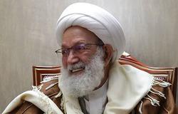 حضور رهبر شیعیان بحرین در حرم امام خمینی (ره)+تصویر