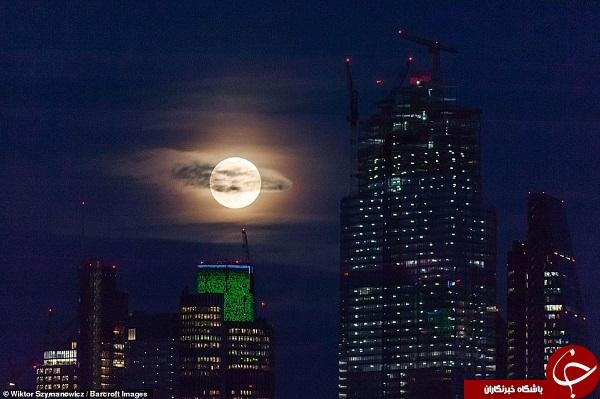 تصاویر زیبا از کره ماه
