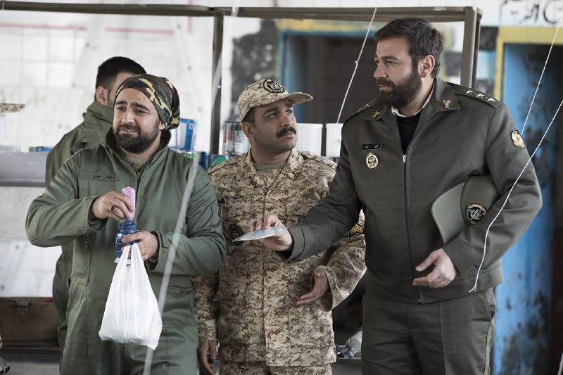 جواد خواجوی مقابل دوربین سریال «سرباز»