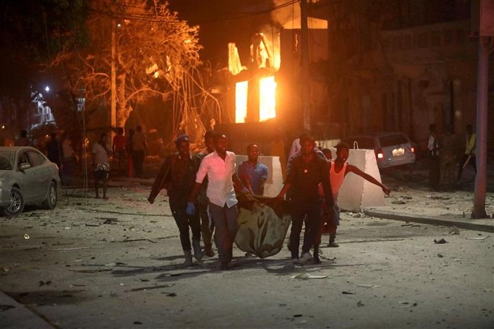 افزایش شمار قربانیان حمله تروریستی سومالی+تصاویر