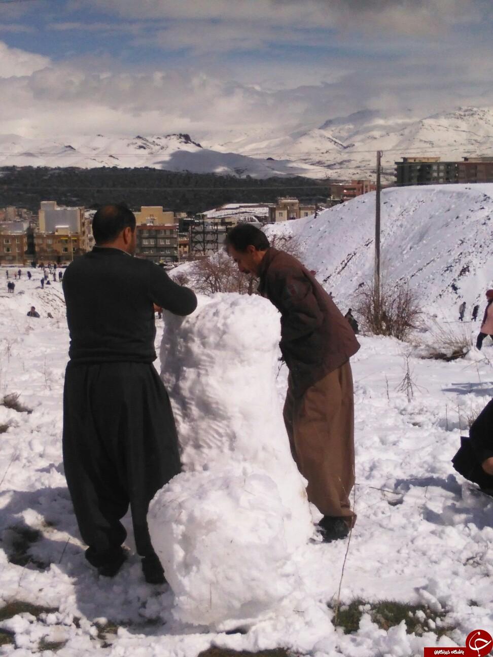 طراوت هوا ارمغان برف و باران