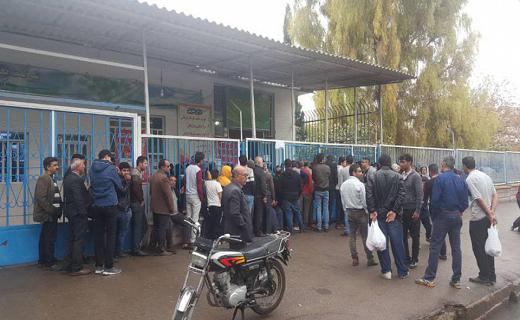 تشکیل صف طولانی برای گوشت در خوزستان