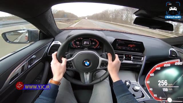 رانندگی با سرعت ۲۵۰ کیلومتر در ساعت با بیامو 850i ! +فیلم