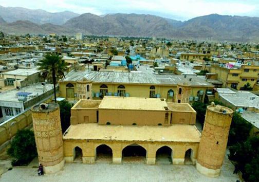 داراب تلفیق هنر ایران و هند/تنها مسجد چهار مناره جهان اسلام در داراب