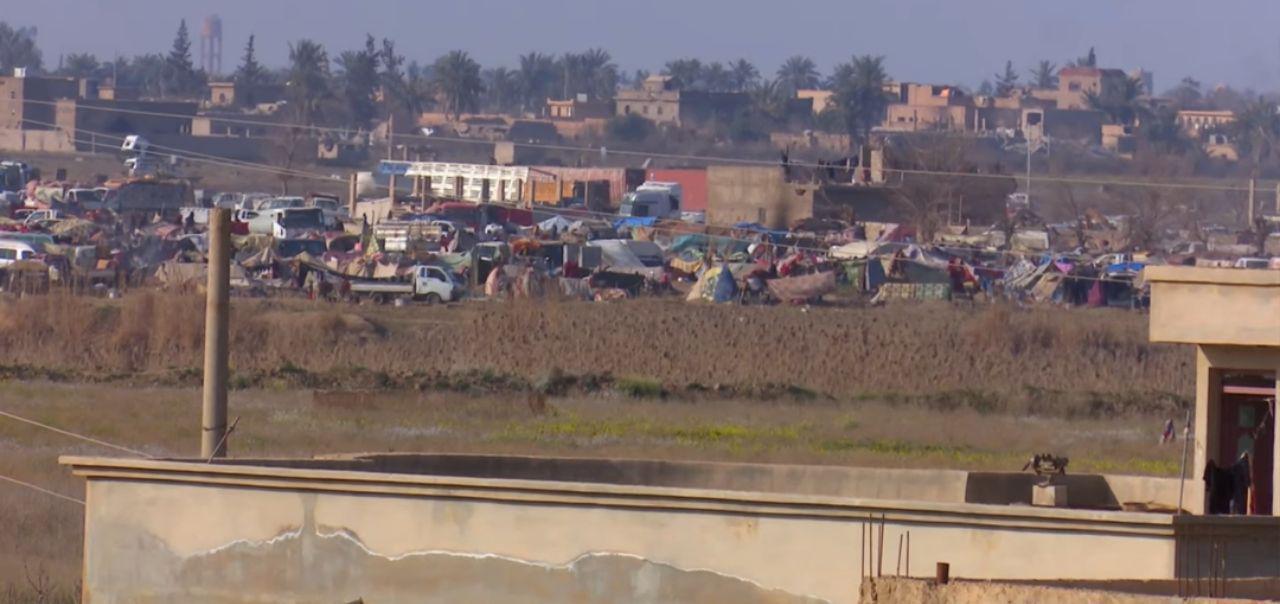 سانسور خبری حملات شدید جنگندههای آمریکایی با بمب های فسفری به اردوگاه آوارگان در شرق رود فرات + نقشه میدانی و تصاویر
