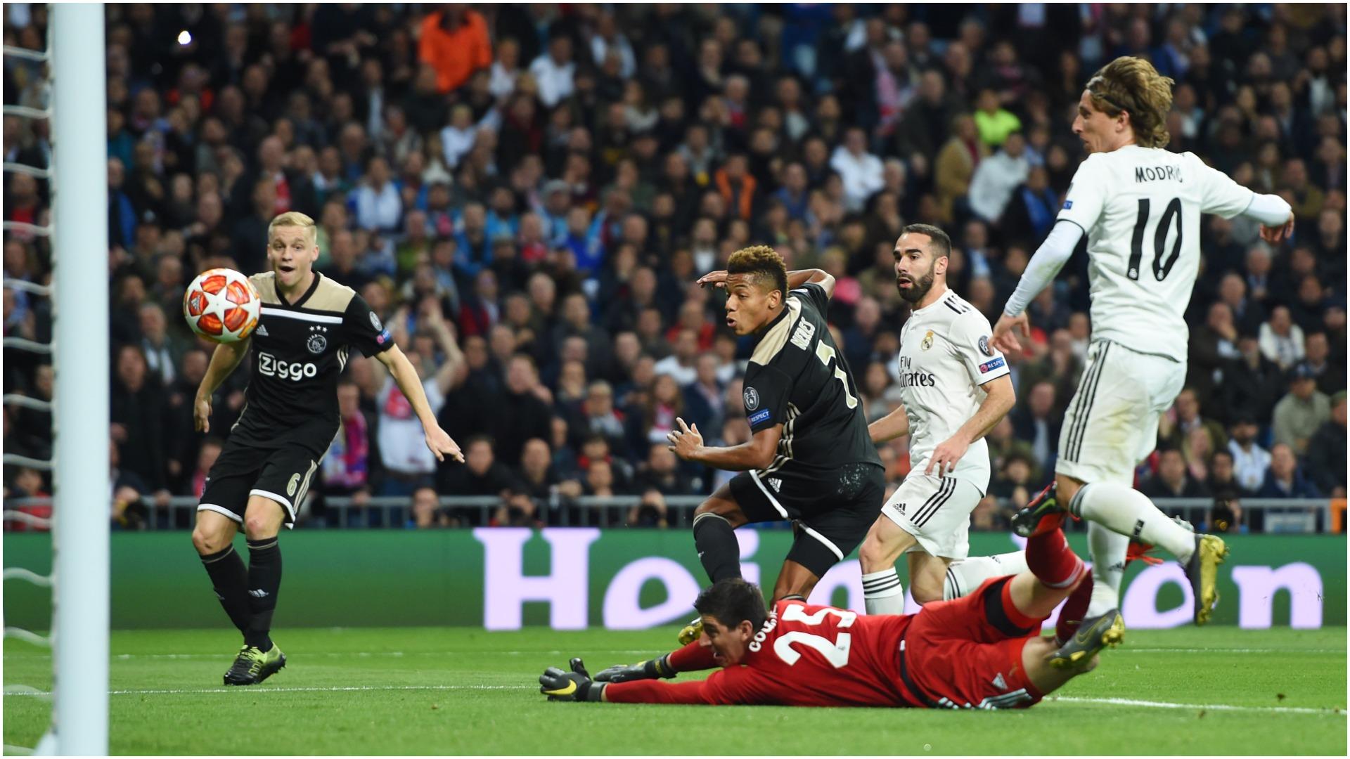 حذف تحقیر آمیز رئال مادرید مقابل آژاکس/دورتموند حریف تاتنهام نشد