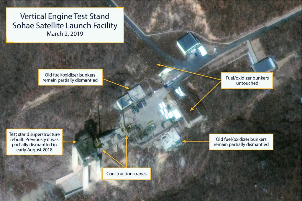 کره شمالی بازسازی تاسیسات موشکی خود را از سر گرفت